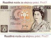 Rozdílné platy mužů a žen budou muset velké firmy Británii hlásit.