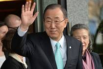 Bývalý generální tajemník OSN Pan Ki-mun.