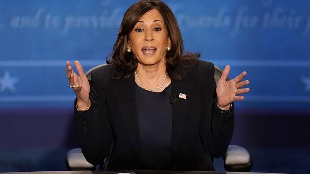Demokratická senátorka Kamala Harrisová