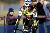 Cyklokrosař Martin Bína.