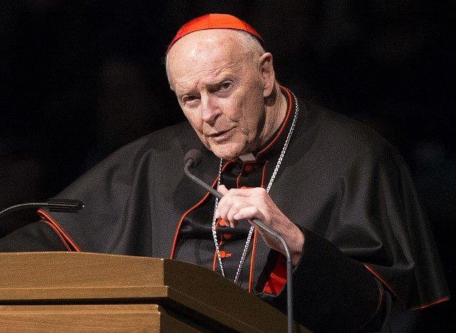Americký kardinál Theodore McCarrick.