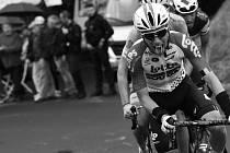 Cyklista Bjorg Lambrecht.