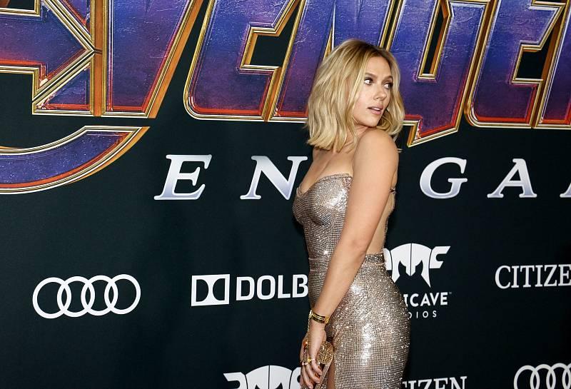Scartett Johanssonová jako hvězda Avengers.