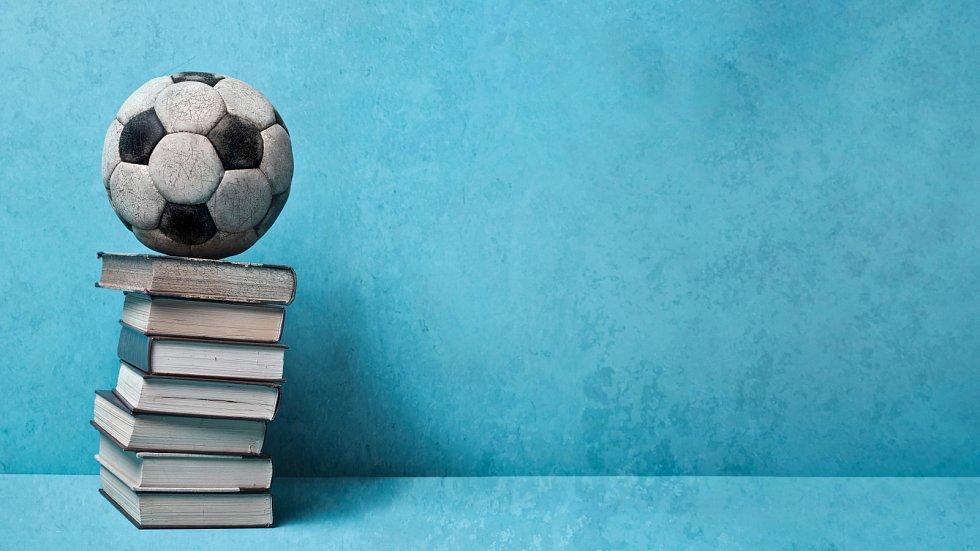 David Svoboda má doma především knížky o sportu.