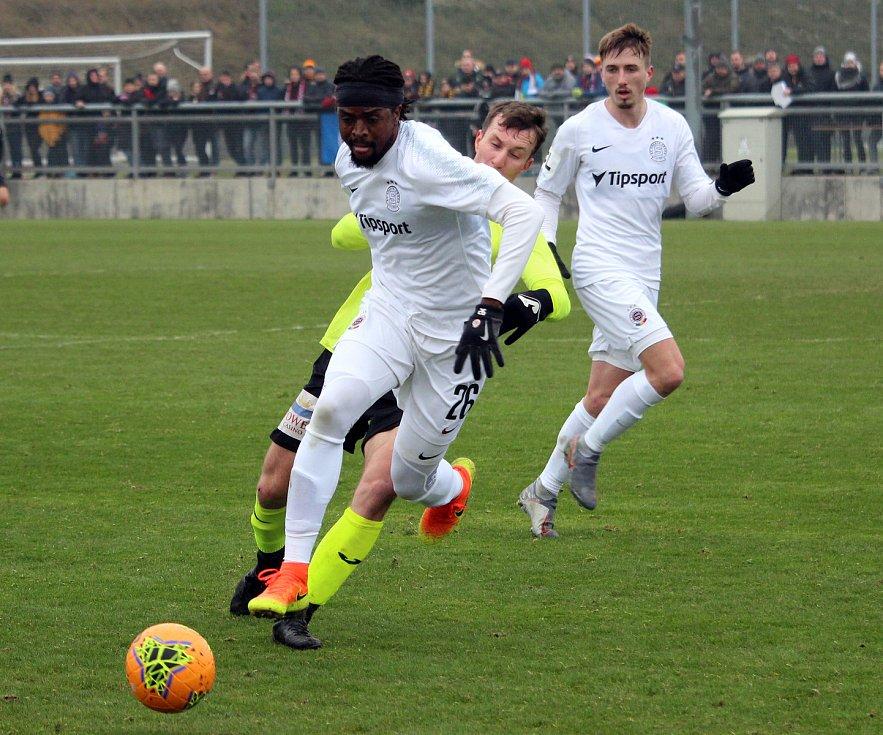 Přípravný zápas: Sparta - Ústí nad Labem 1:0 (0:0) 68. Sáček