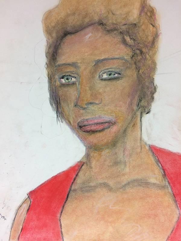 Ženy beze jména. Vrah Samuel Little pro FBI nakreslil portréty žen, které údajně zabil. Agentura zveřejnila obrázky v naději, že se jim osoby na nich podaří identifikovat. Tuto ženu Little prý zabil v roce 1988 alebo 1996 v Arizoně.