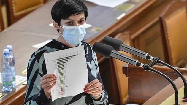 Předsedkyně TOP 09 Markéta Pekarová Adamová