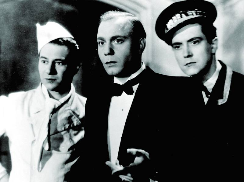 Tři dlužníci (Ladislav Pešek, Jan Pivec a Antonín Novotný)