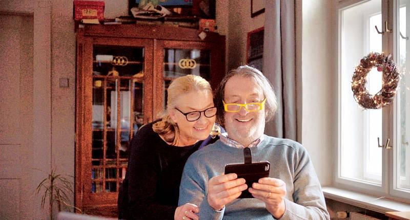 S Bolkem Polívkou vytvořila v komedii Ženská na vrchou Jana Preissová manželský pár.