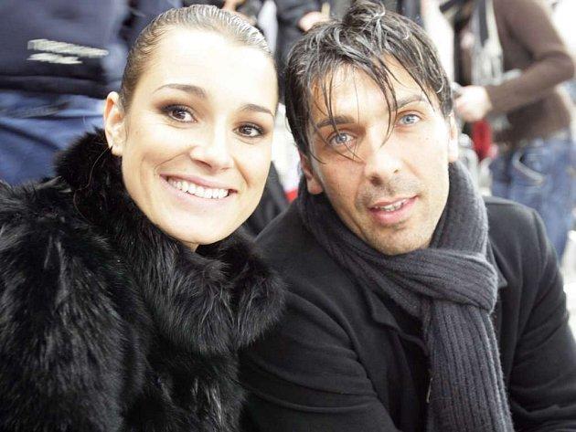 Šeredová a Buffon spolu chodí půldruhého roku.