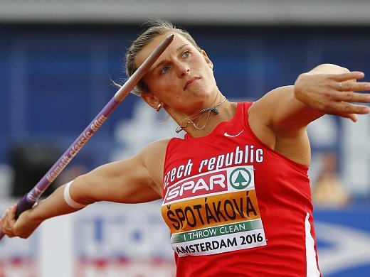 Barbora Špotáková, ME Amsterodam 2016