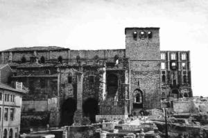 Katedrála v Santanderu po požáru
