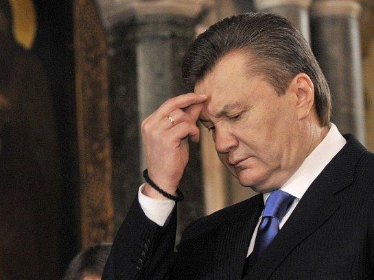 Ukrajinský prezident Viktor Janukovič