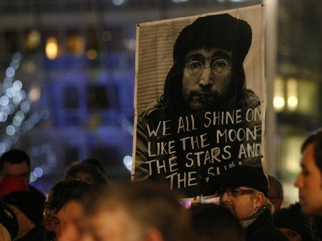 Pieta za Johna Lennona.