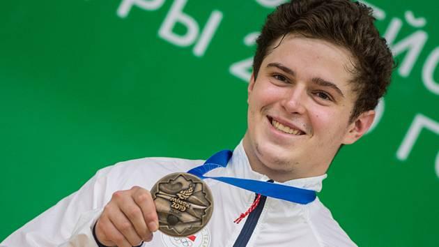 Filip Nepejchal vybojoval 24. června 2019 na Evropských hrách v Minsku bronzovou medaili ve střelbě ze vzduchové pušky