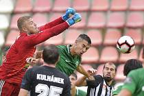 Utkání 5. kola první fotbalové ligy: 1. FK Příbram - Dynamo České Budějovice