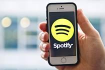 Aplikace Spotify.