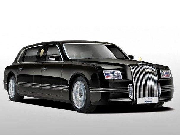 Možná podoba budoucí limuzíny pro ruského prezidenta.