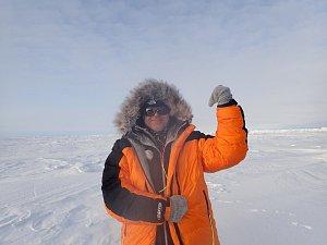 Miliardář Pavel Sehnal na severním pólu