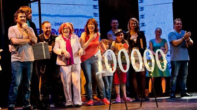 Muzikál Mýdlový princ vidělo v Divadle Broadway už 100 000 návštěvníků.