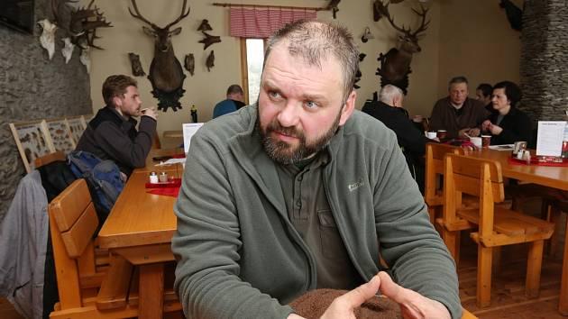 Sedlák a lesník Daniel Pitek