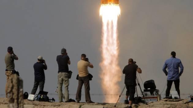 Raketa Sojuz odstartovala z Bajkonoru