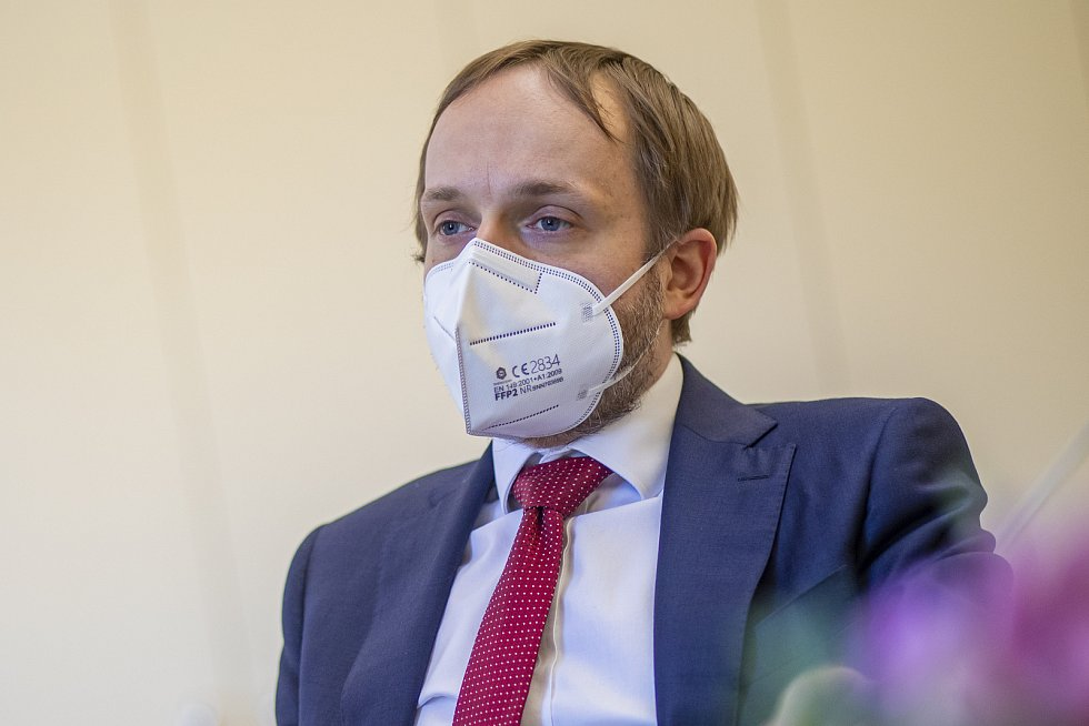 Ministr zahraničí Jakub Kulhánek