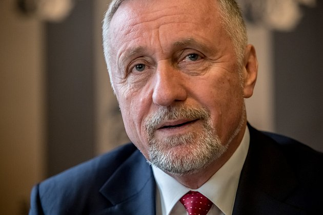 Mirek Topolánek poskytl 2. ledna v Praze rozhovor Deníku.
