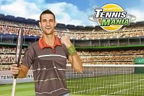 Prohlížečová hra TennisMania.