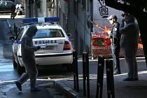 Řecká policie. Ilustrační snímek