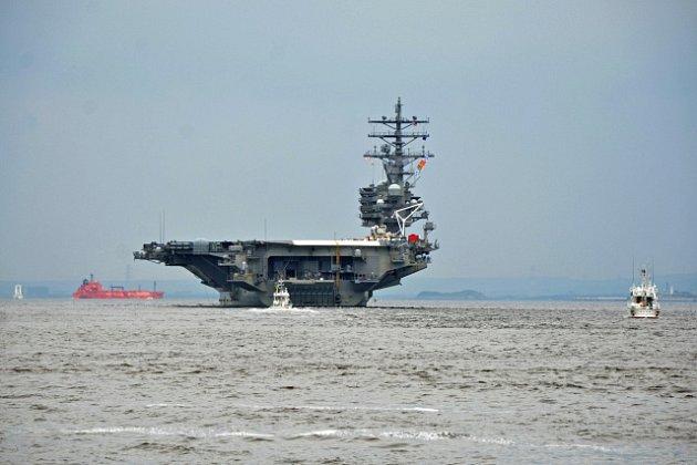 Letadlová loď Ronald Reagan byla zařazena do výzbroje amerického námořnictva v roce 2003.