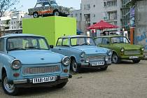 "Trabant - socialistické vozítko zvané ""modrofuk"""