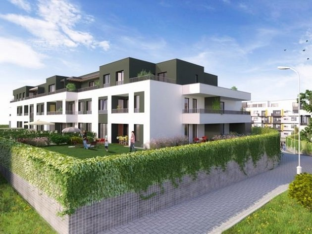 Místo Modřanského cukrovaru postaví Skanska bytové domy.