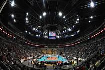 Pražská O2 Aréna hostí Final Four volejbalové Ligy mistrů.