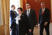 Český prezident Miloš Zeman jmenoval nové ministry