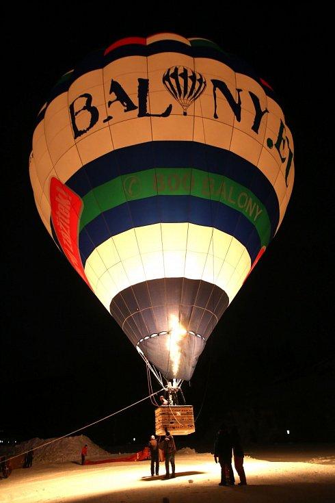 Let balonem je velkým zážitkem
