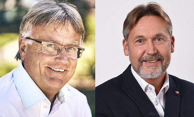 Obvod 12Strakonice, Tomáš Fiala (ODS) vlevo, Luboš Peterka (KDU-ČSL)