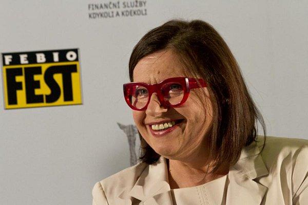 Slovenská herečka Zuzana Kronerová