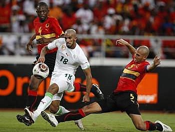 Fotbalisté Angoly s Alžírskem se rozešli bez branek.