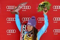 Tina Mazeová potvrdila svou dominanci i ve slalomu v Ofterschwangu.