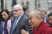 Duchovní vůdce Tibetu dalajlama