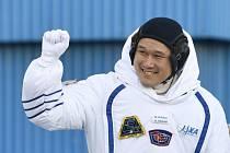 Astronaut Norišige Kanai