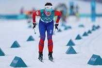 Kateřina Beroušková při závodu žen ve sprintu