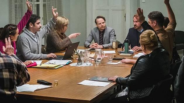 Fotografie z natáčení filmu Vlastníci.