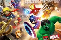 Počítačová hra Lego Marvel Super Heroes.