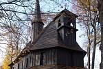 Hřbitovní dřevěný kostel P. Marie v Broumově