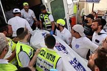 Tlačenice na poutním místě v Izraeli si vyžádala desítky obětí.