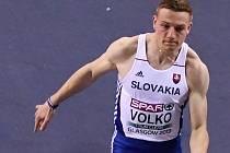 Ján Volko na halovém mistrovství Evropy v Glasgow