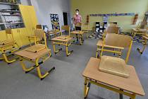 Příprava na otevření školy v Ludgeřovicích