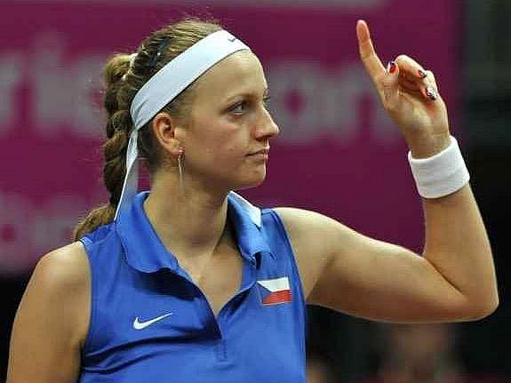 Česká hrdinka - Petra Kvitová.
